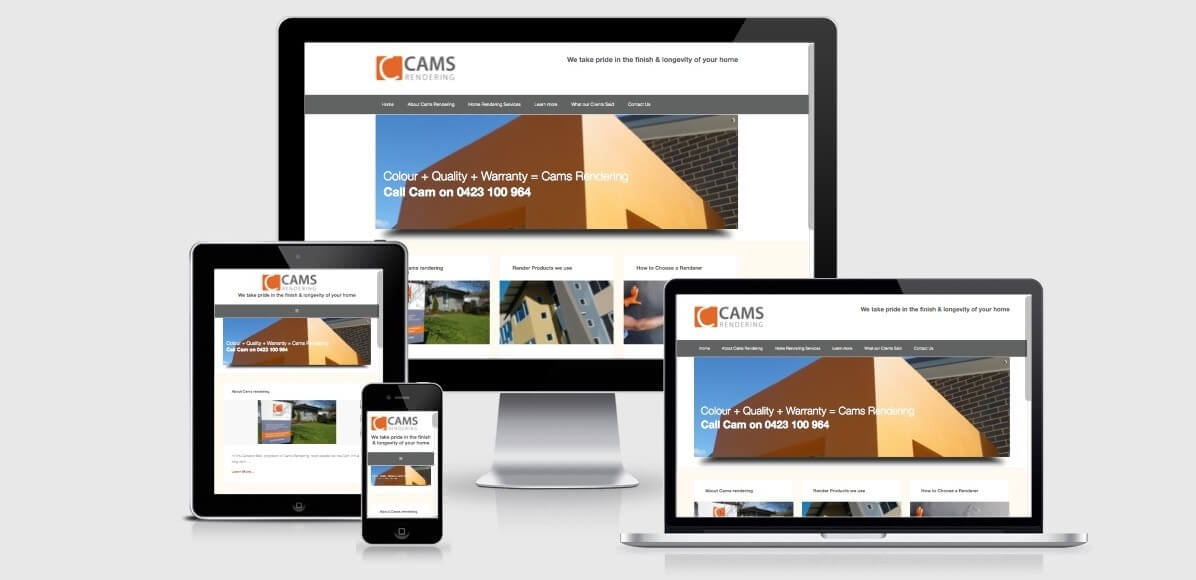 Image of Cams Rendering Website
